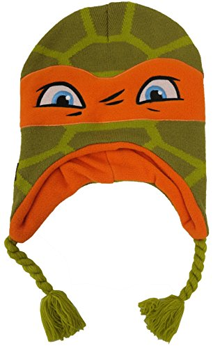 Teenage Mutant Ninja Turtles Hat (Teenage Mutant Ninja TMNT Turtles Michelangelo Scandinavian Green Hat [4013])