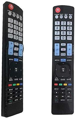 AKB73615309 Mando a Distancia de Repuesto Universal para LG LED LCD HD LED TV/Smart TV, reemplazado el Mando a Distancia para LG TV AKB72914209 AKB72914293 AKB76756504 AKB74915309: Amazon.es: Electrónica