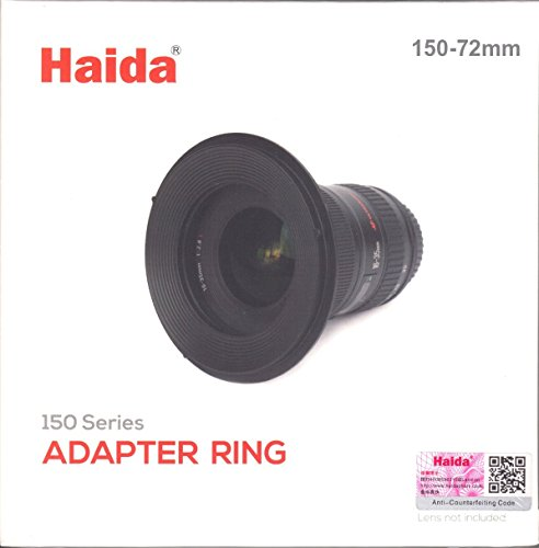 Haida 72mm Metal Adapter ring for 150 Series Filter Holder
