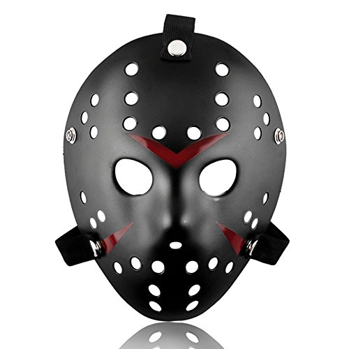 ALIZIWAY Jason vs Freddy Mask Halloween Costume Cosplay Friday The 13th Hockey (A Jason Costume)