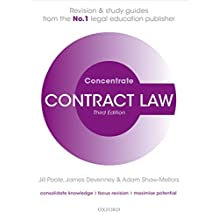 Contract Law Concentrate: Law Revision and Study Guide
