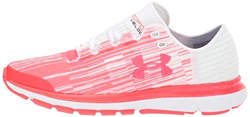 Under Armour Women's Speedform Velociti Graphic, Marathon Red/White/Marathon Red, 10 B(M) US by Under Armour (Image #5)