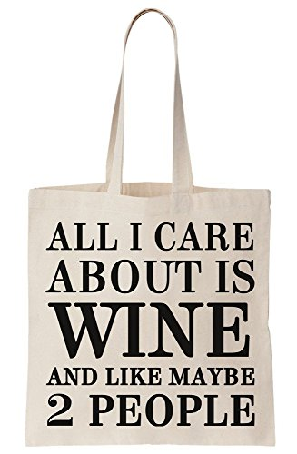And Canvas Maybe Bag Care 2 I Like Is People All Wine About Tote gXCHq