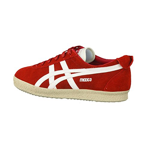 Basses Delegation Tiger Blanc Sneakers Onitsuka Mexico Adulte Unisexe Rouge SORWpZ