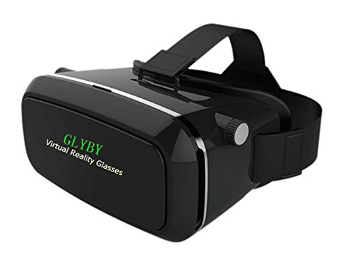 Glyby 3d VR Headset Virtual Reality Headset, Glasses with NFC Tag for Smart Phone