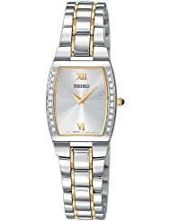 Seiko Womens SUJE81 Diamond Two-Tone Watch