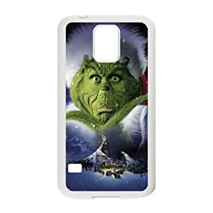 The Grinch Christmas Samsung Galaxy S5 Cell Phone Case White DIY GIFT pp001_8153833