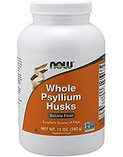 Now Foods Whole Psyllium Husks, 340g