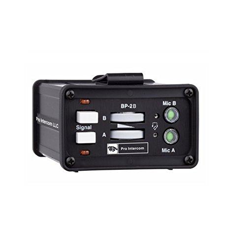 Pro Intercom BP2B | Two Circuit Binaural Portable Headset Station Beltpack by Pro Intercom
