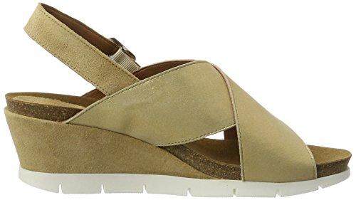 Marc Shoes Damen Lexi Slingback Sandalen, Gold (Gold), 39 EU