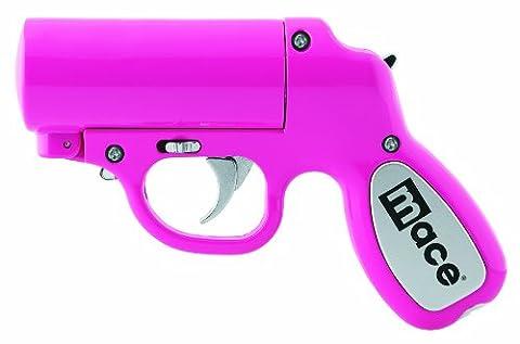 Mace Brand Self Defense Police Strength Pepper Spray Gun with Strobe LED (Pistola Hvlp)