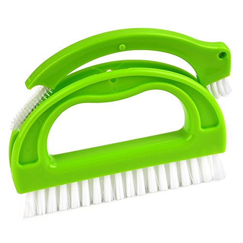 NANTAI Grout Cleaning Brush - Adjustable With Long Handle Gr