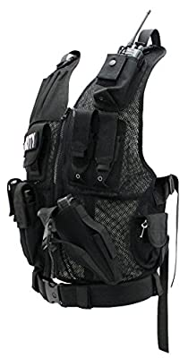 First Class Tactical Duty Vests Security, Black