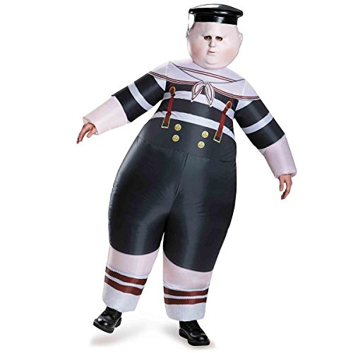 Disguise Tweedle Dum/Tweedle Dee Inflatable Child Alice Through The Looking Glass Movie Disney Costume, One Size Child, One -