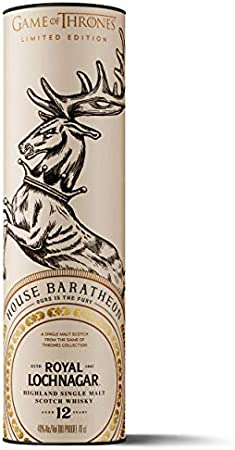 Royal Lochnagar - Whisky escocés puro de malta (Edición limitada Juego de Tronos: Casa Baratheon) 700 ml