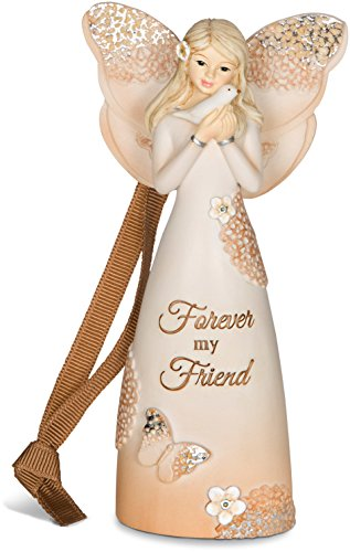 Pavilion Gift Company 19080 Forever Friend Angel Figurine/Ornament, 4-1/2-Inch - Friend Angel Ornament