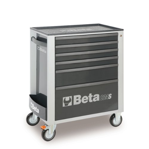 C24S 6/G-MOBILE ROLLER CAB 6 DRAW. GREY by Beta Tools