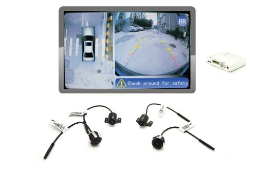iParaAiluRy 360 Around View Parking Assist Universal for All Cars Bird's-Eye View Parking Aid - VE-GN204