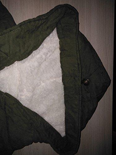 Hoody LS Autumn Coat with Fleece Wicky Winter Outwear Green Women's Drawstring Army Inqwx4Tdf