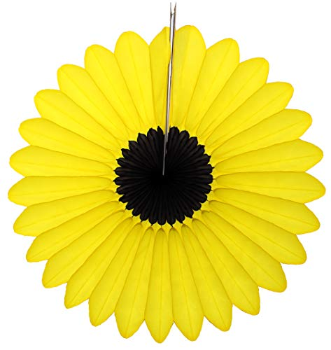 3-Pack Bumblebee Black Yellow 18 Inch Fanburst