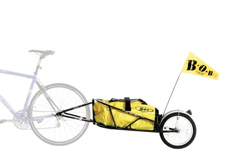 BOB Yak Plus Trailer In Black (Includes Dry Sak) by BOB