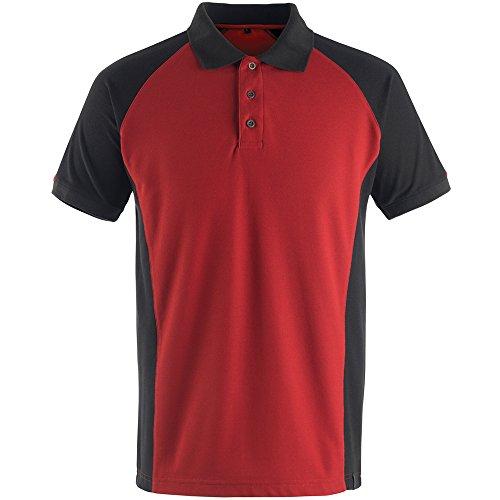 """Mascot Polo-shirt """"Bottrop"""", 1 Stück, M, rot/schwarz, 50502-260-0209-M"""