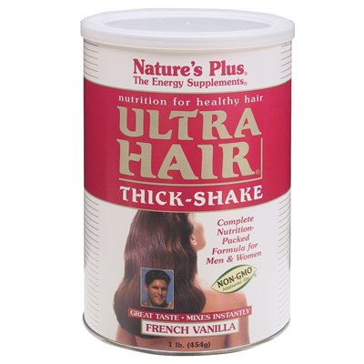 Nature's Plus - Ultra Hair Thick Shake 1 Lb, Nutrition for healthy (Lipotropic Protein)