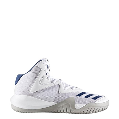 adidas Men's Crazy Team 2017 Footwear White/Mgh Solid Grey/Mystery Blue Athletic Shoe