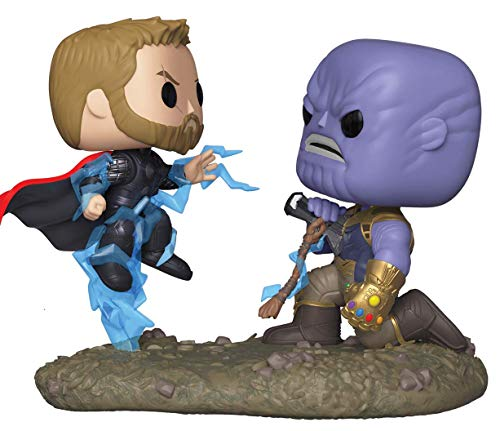 - Funko 35799 Movie Moments Marvel: Avengers Infinity Warthor Vs. Thanos, Multicolor