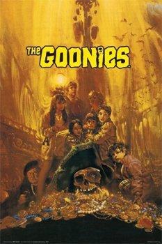 (24x36) Goonies Movie Group Poster Print 80s