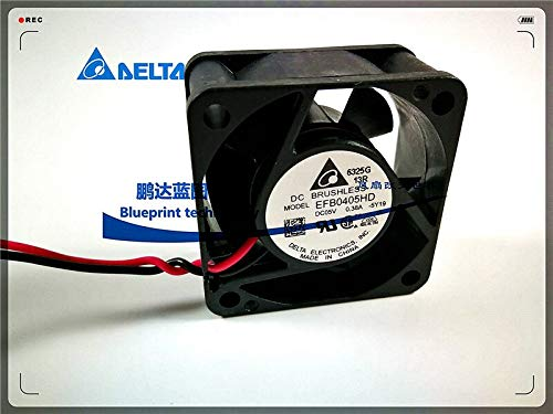 4 cm 5 v 0.38 A Dual Ball Bearing Large air Cooling Fans REFIT New EFB0405HD 4020