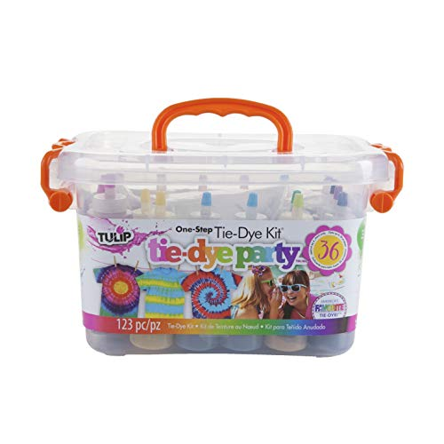(Tulip One-step Tie-Dye Party Kit, Set of 123)
