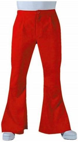 70er 80 años para hombre pantalones de disfraz de impacto ...