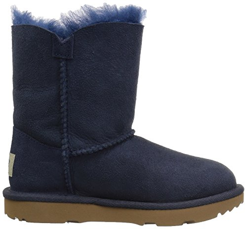 UGG Girls T Bailey Button II Pull-On Boot, Navy, 12 M US Little Kid by UGG (Image #7)