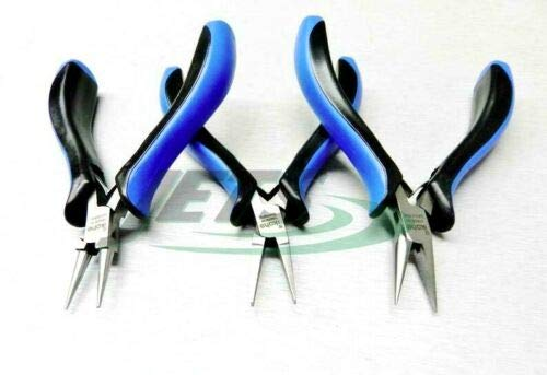 Y2K Series German Pliers Set of 3 - Chain, Flat, Round Nose Jewelry Art Craft Making Tools