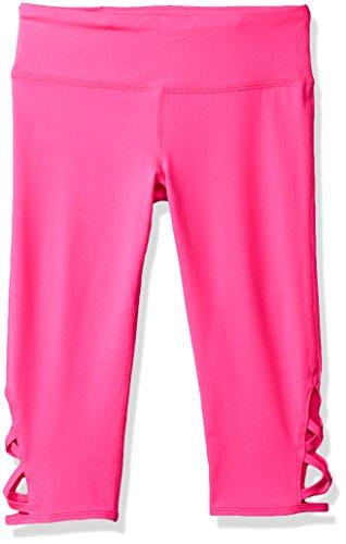 Girls Pink Capri Pants - 3