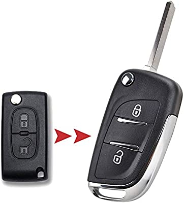 XUKEY CE0536 - Carcasa para Mando a Distancia para Peugeot ...