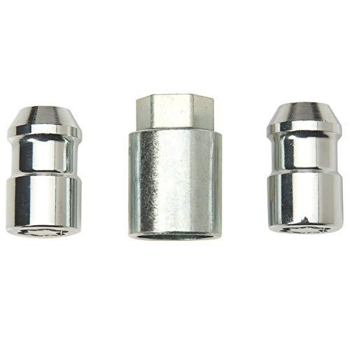 (McGard Trailer Wheel Lock Lug Nut, 2 Locks for Single Axle Trailer)