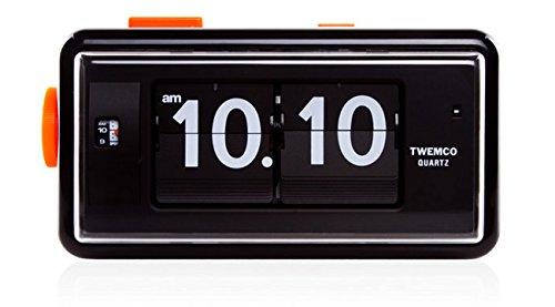 TWEMCO トゥエンコ AL-30 インテリアクロック ホワイト [クロノワールド chronoworld] B00ZQFI4SO ホワイト