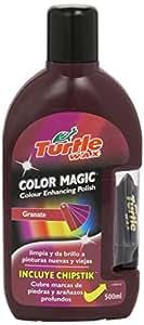 Turtle Wax FG7096 Color Magic Plus Cera con Lápiz Tapa Arañazos, Rojo Oscuro