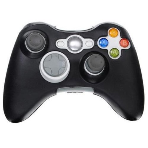 HDE Protective Silicone Skin Hand Grip Cover for Xbox 360 Controller (Black) For Sale