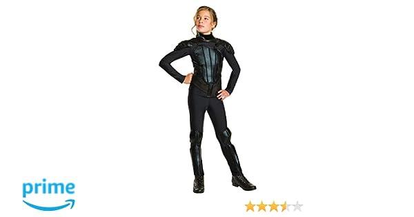 Rubies 620448S Disfraz Oficial de Katniss Rebel, para niños, pequeño