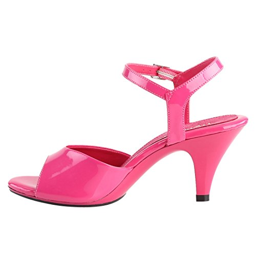 Sandales Belle Femme Hot Pink Hot Pink Ouvert 309 Pat Bout Fabulicious 1pxEqx