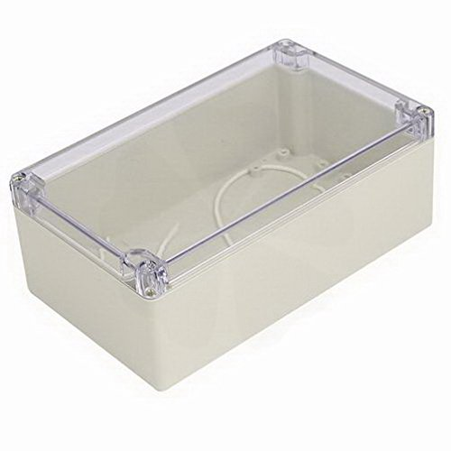 Electrical Boxes 200mmx120mmx75mm ABS Plastic Dustproof Junction Box Case Electrical Project Enclosure Clear By Houseuse by Houseuse