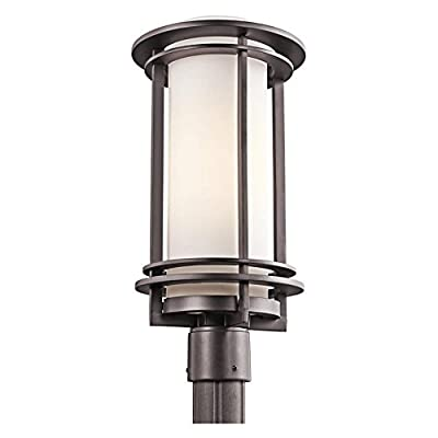 Kichler Pacific Edge 49349 Outdoor Post Lantern - 9.5 in.