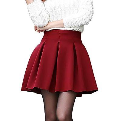 BB&CC Women High Waist Short Skirts Cotton Space Tutu Pleated