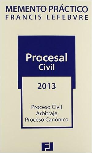 Memento práctico procesal civil 2013 (Mementos Practicos)