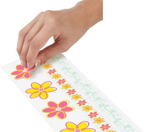 UPC 070896629784, Wilton Sugar Sheet Stickers, Flowers with Borders
