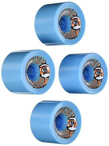 - Sector 9 Top Self Nine Balls Skateboard Wheel, Blue, 74mm 78A