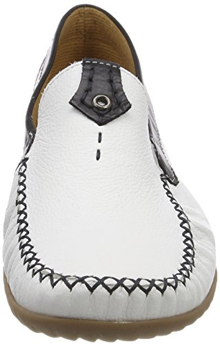 Gabor Shoes Women's Comfort Basic Loafers White (Weiss/Multic.) YtHnWe5fcP